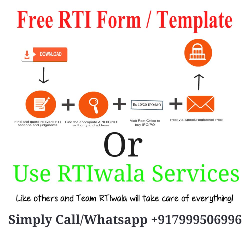 Rti Form Pdf In Hindi